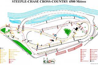 plan steeple chase CC 4500m