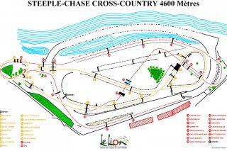 plan steeple chase CC 4600m