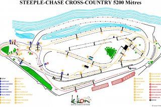 plan steeple chase CC 5200m