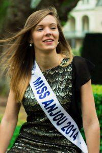 Claire Peltier : Miss Anjou 2014