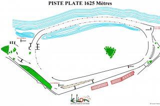 plan piste plate 1625m